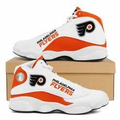 NHL Philadelphia Flyers Air Jordan 13 Shoes V2