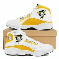 NHL Pittsburgh Penguins Air Jordan 13 Shoes V2