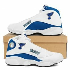 NHL St. Louis Blues Air Jordan 13 Shoes V2
