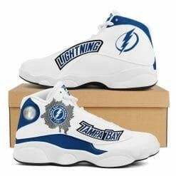 NHL Tampa Bay Lightning Air Jordan 13 Shoes V2