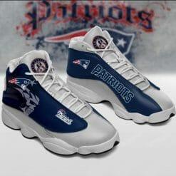 NFL New England Patriots Air Jordan 13 Shoes