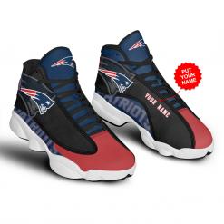 NFL New England Patriots Air Jordan 13 Shoes Personalized V1