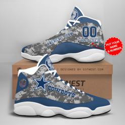 NFL Dallas Cowboys Air Jordan 13 Shoes Personalized V13