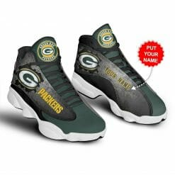 NFL Green Bay Packers Air Jordan 13 Shoes Personalized V1