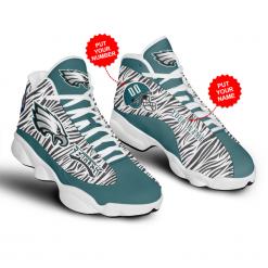 NFL Philadelphia Eagles Air Jordan 13 Shoes Personalized V2