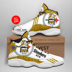 NFL Pittsburgh Steelers Air Jordan 13 Shoes Personalized V5