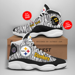 NFL Pittsburgh Steelers Air Jordan 13 Shoes Personalized V2