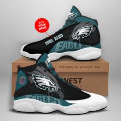 NFL Philadelphia Eagles Air Jordan 13 Shoes Personalized V1