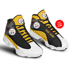 NFL Pittsburgh Steelers Air Jordan 13 Shoes Personalized V6