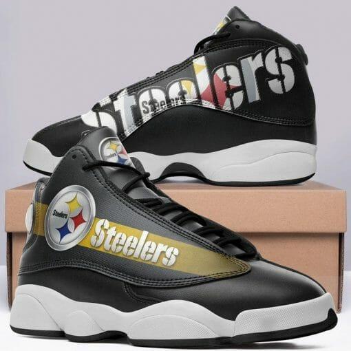 NFL Pittsburgh Steelers Air Jordan 13 Shoes