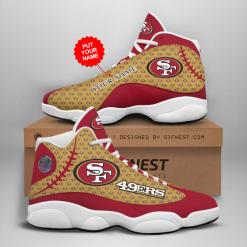 NFL San Francisco 49ers Air Jordan 13 Shoes Personalized V4