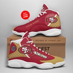 NFL San Francisco 49ers Air Jordan 13 Shoes Personalized V2