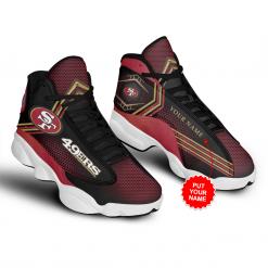 NFL San Francisco 49ers Air Jordan 13 Shoes Personalized V1