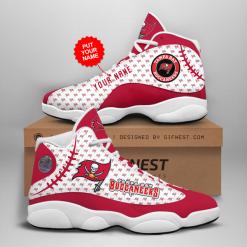 NFL Tampa Bay Buccaneers Air Jordan 13 Shoes Personalized V3
