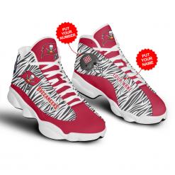 NFL Tampa Bay Buccaneers Air Jordan 13 Shoes Personalized V2
