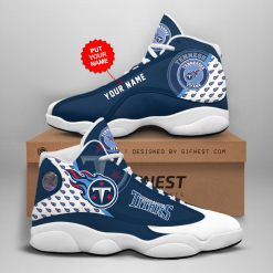 NFL Tennessee Titans Air Jordan 13 Shoes Personalized V1