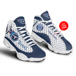 NFL Tennessee Titans Air Jordan 13 Shoes Personalized V3