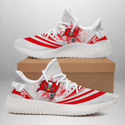 NFL Tampa Bay Buccaneers Yeezy Boost White Sneakers V2
