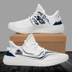 NCAA UTSA Roadrunners Yeezy Boost White Sneakers V3