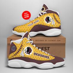NFL Washington Redskins Air Jordan 13 Shoes Personalized V4