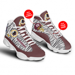 NFL Washington Redskins Air Jordan 13 Shoes Personalized V3