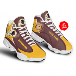 NFL Washington Redskins Air Jordan 13 Shoes Personalized V2