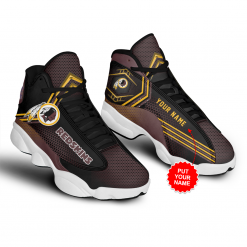 NFL Washington Redskins Air Jordan 13 Shoes Personalized V1