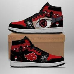 Naruto Anime Itachi Uchiha Air Jordan 1 Shoes V3