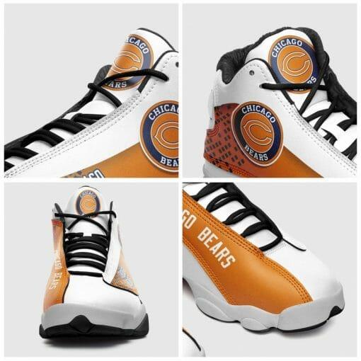 NFL Chicago Bears Air Jordan 13 Shoes