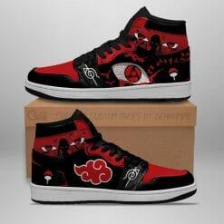 Naruto Anime Itachi Uchiha Air Jordan 1 Shoes V8