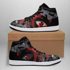 Naruto Anime Itachi Uchiha Air Jordan 1 Shoes V10
