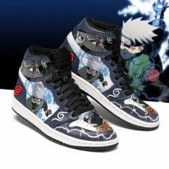 Naruto Anime Kakashi Hatake Air Jordan 1 Shoes V2