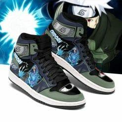 Naruto Anime Kakashi Hatake Air Jordan 1 Shoes V4