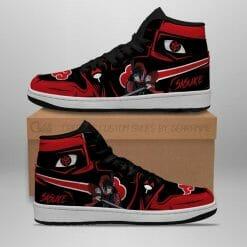 Naruto Anime Sasuke Uchiha Air Jordan 1 Shoes V5