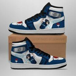 Naruto Anime Sasuke Uchiha Air Jordan 1 Shoes V7
