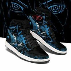 Naruto Anime Sasuke Uchiha Air Jordan 1 Shoes V8