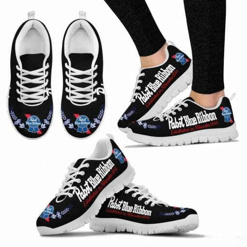 Pabst Blue Ribbon Running Shoes
