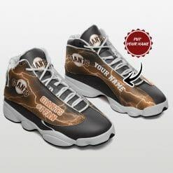 Personalized MLB San Francisco Giants Air Jordan 13 Shoes